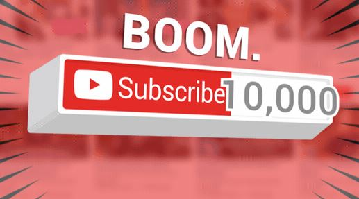 Youtube 10000 subscribers