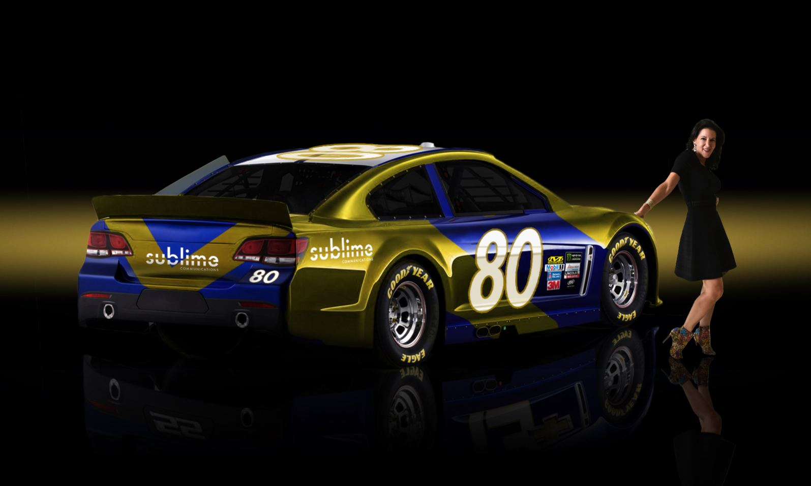 Sublime Communications NASCAR #80