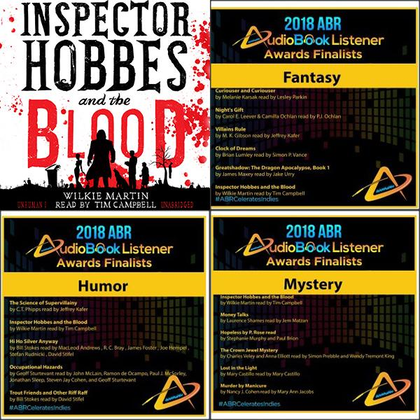 Inspector Hobbes and the Blood by Wilkie Martin read by Tim Campbell