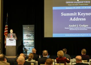 Mr. André Gudger, Former Deputy Assistant Secretary of Defense