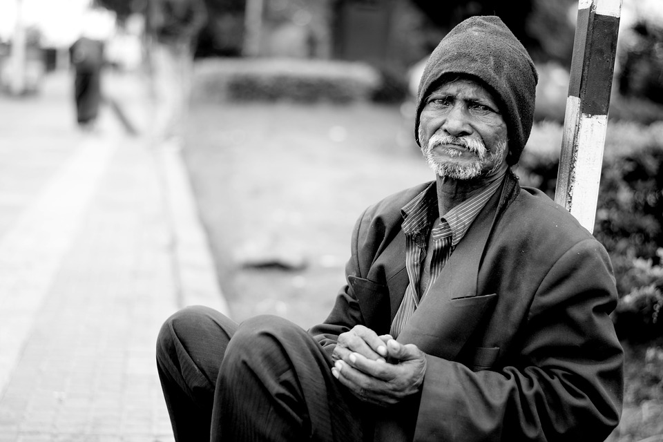 Poverty-Homeless-Jobless-Person. Creative Commons License.