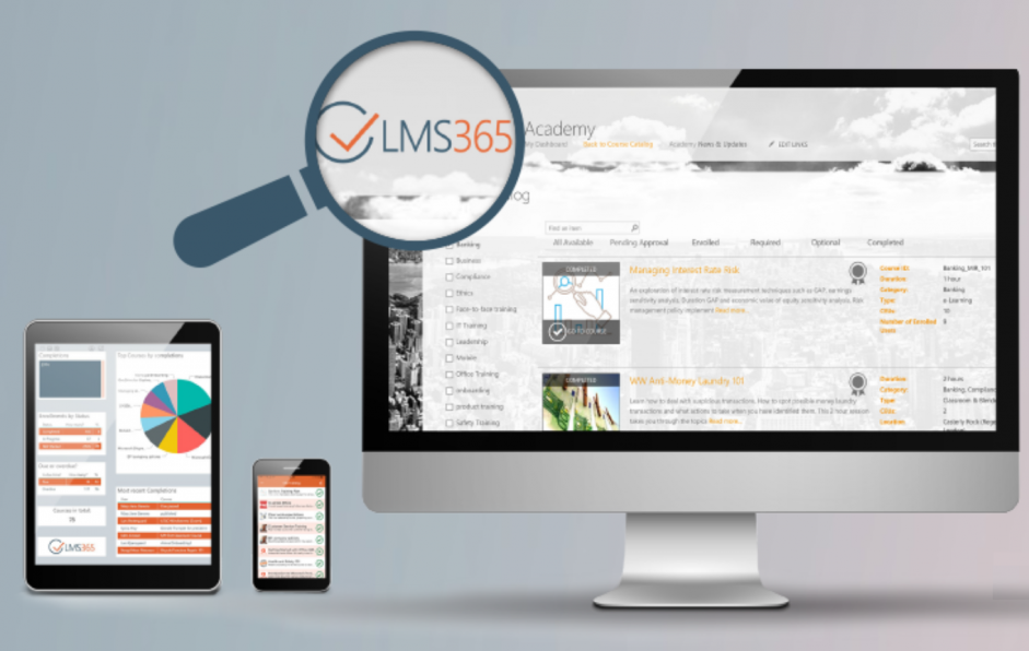 The LMS built for the Modern Digital Workplace.