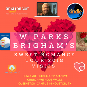 W Parks Brigham Sweet Romance February Tour 2018 Visits Back Author Expo @ CWW