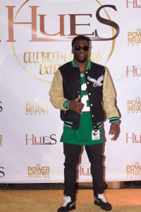 Kevin Hart at The Hues Celebrity Gifting Experience, February 4, 2018