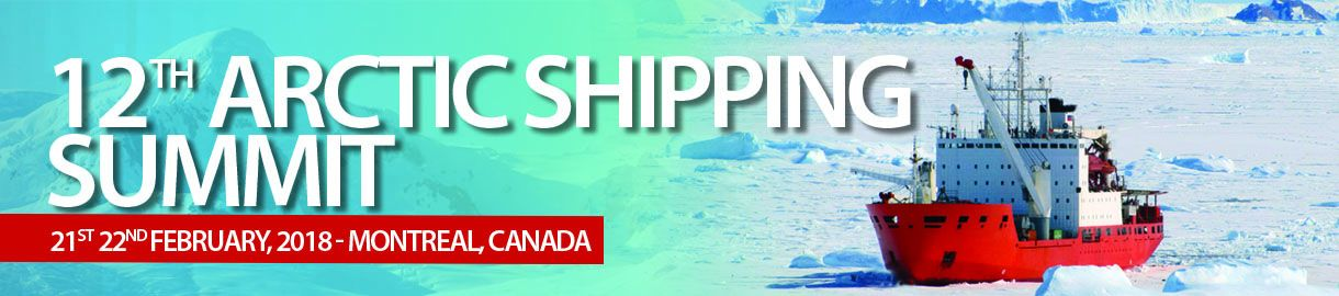 12th Arctic Shipping Summit banner