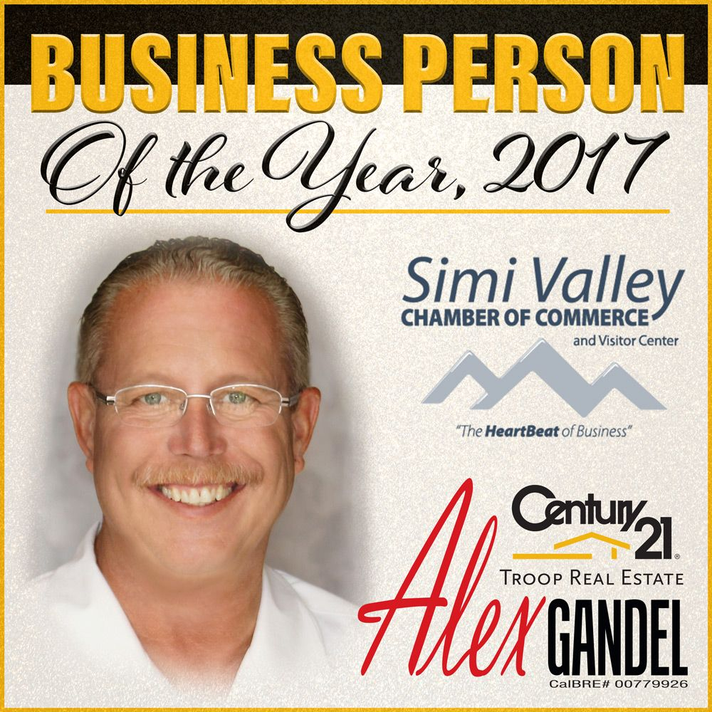 Alex Gandel, Business Person of the Year 2017