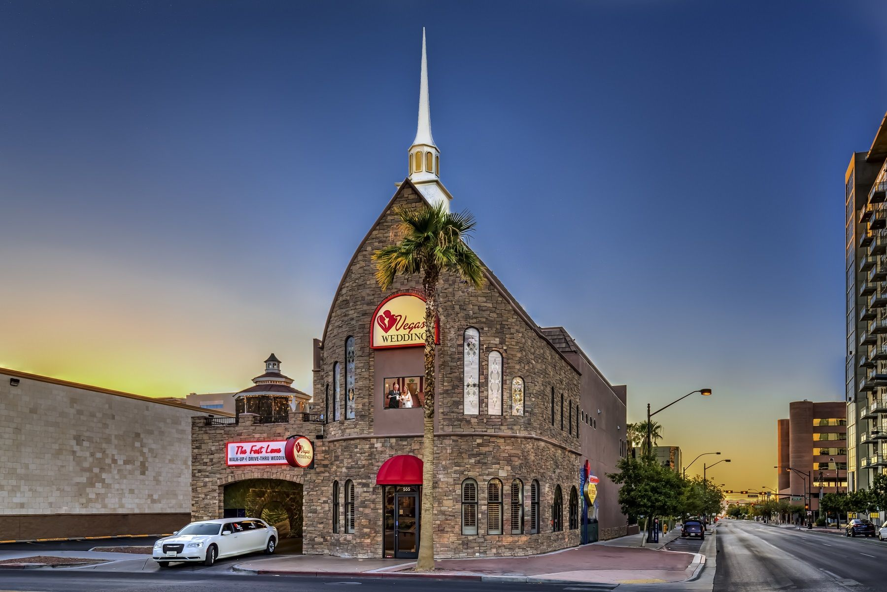Award-winning Vegas Weddings chapel