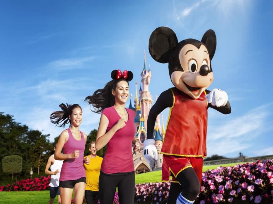 See Mickey Run!