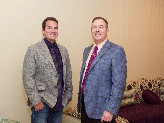 Dr. James L. Newlon and Dr. Stephen Prendiville