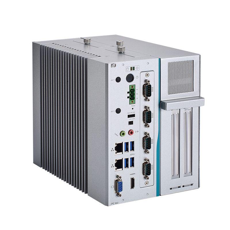 Axiomtek's latest fanless industrial PC, the IPC962-511-FL