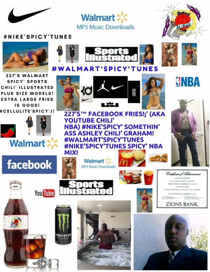 227's™ Facebook Fries!¡' (aka YouTube Chili' NBA) #PlusSize'Spicy' XL Fries!