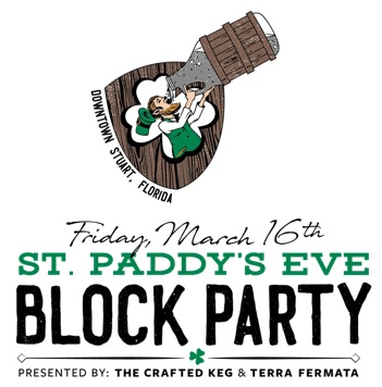 St Paddys Eve Block Party