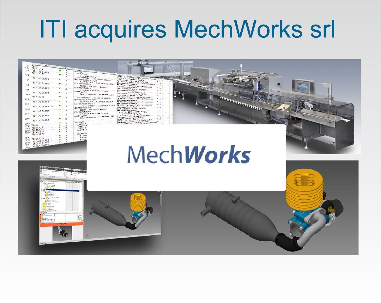 ITI acquires MechWorks srl