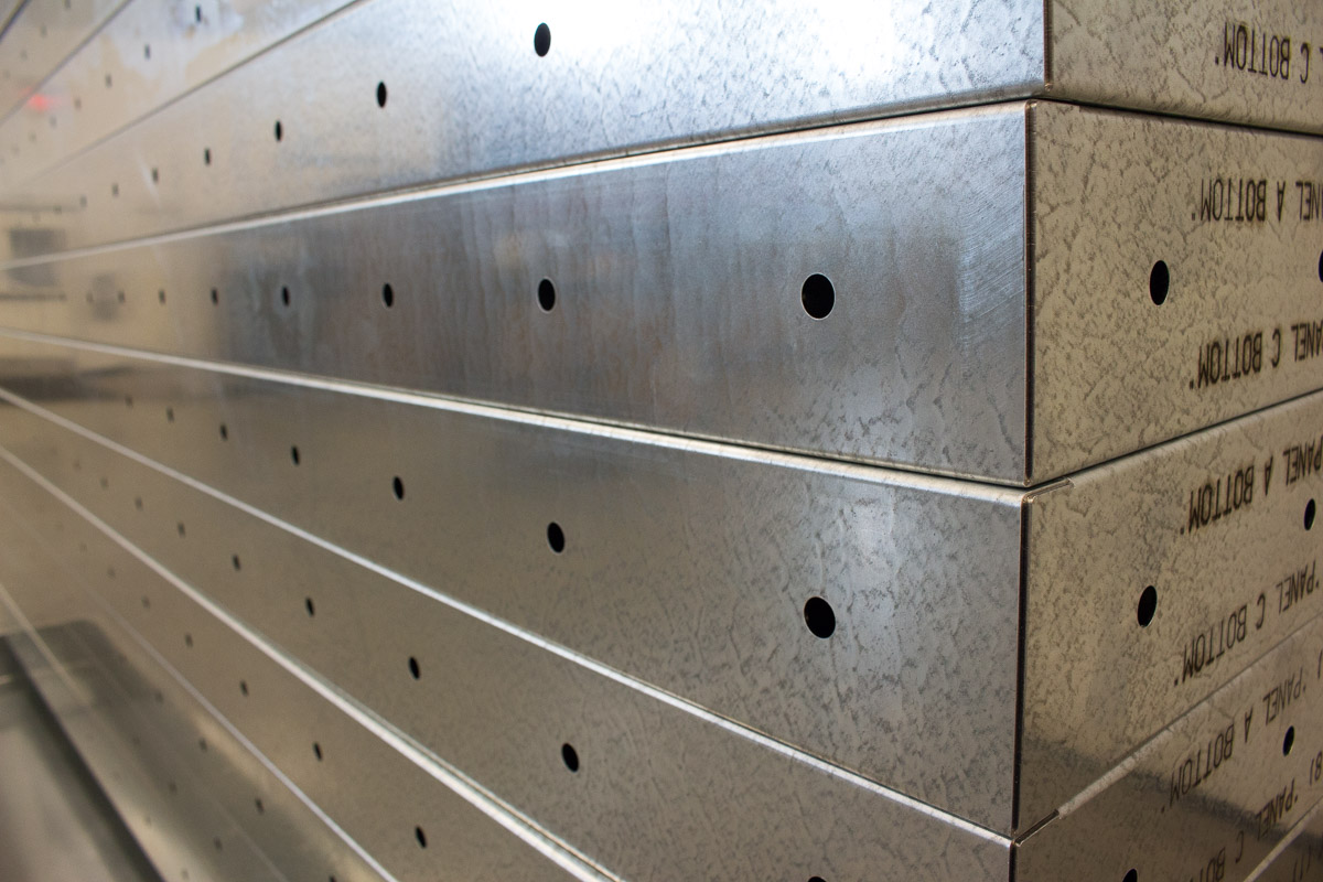 Badger Sheet Metal Works sheet metal manufacturing
