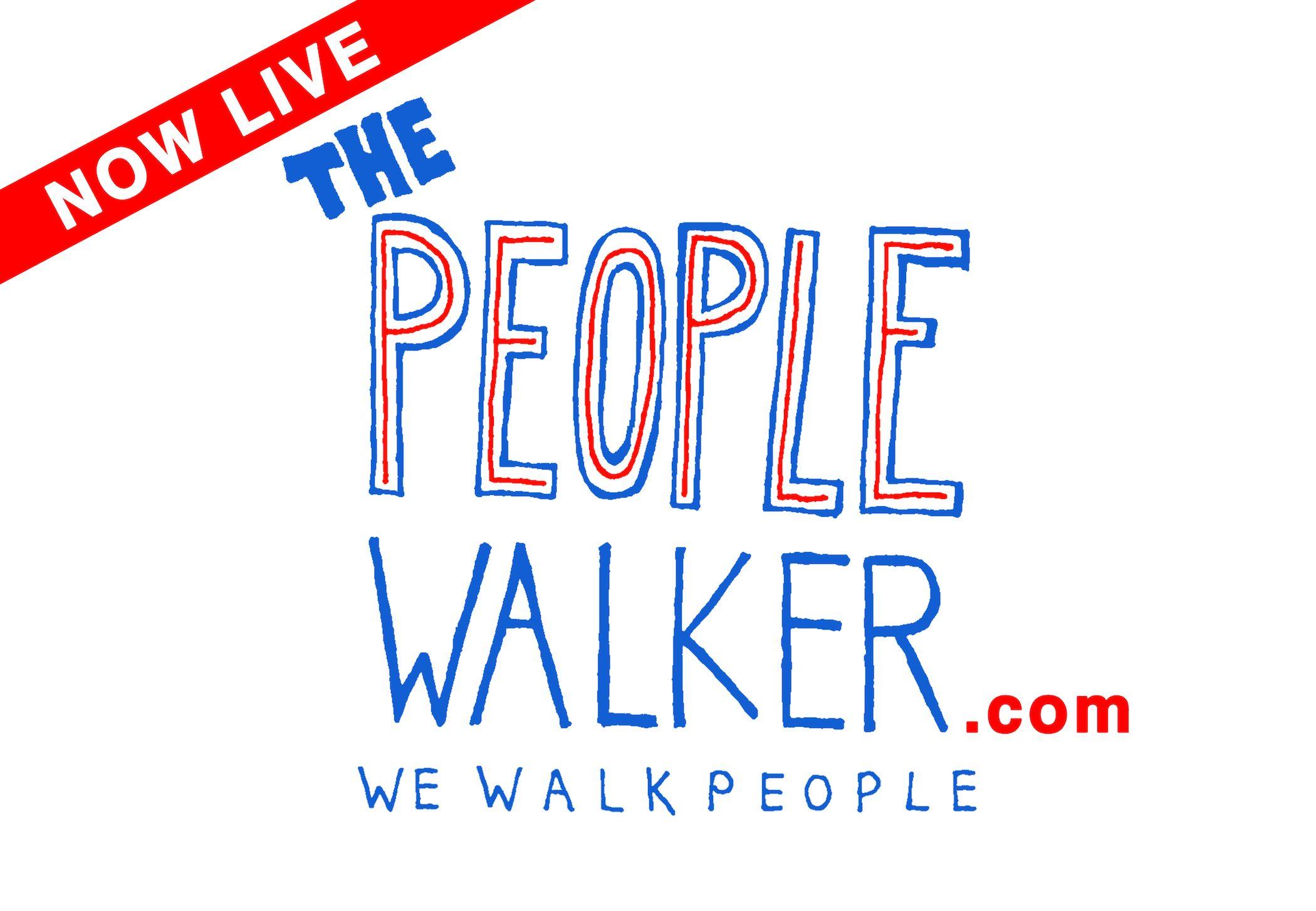 ThePeopleWalker.com is LIVE!