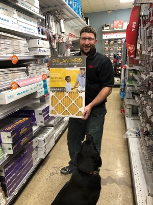 Westerville ACE Hardware now sells PHILANTHRO air filters!
