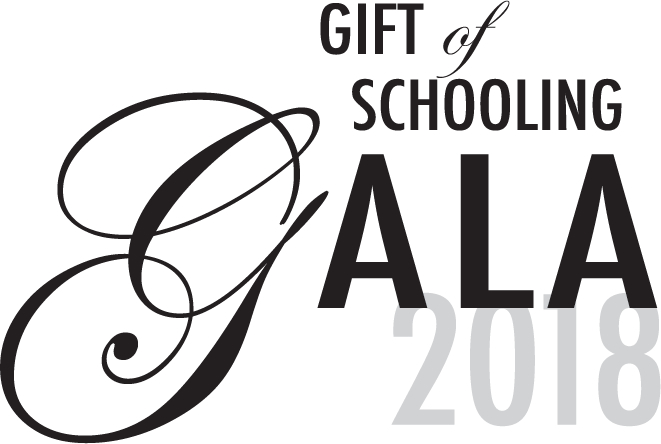 The 2018 Gift of Schooling Gala