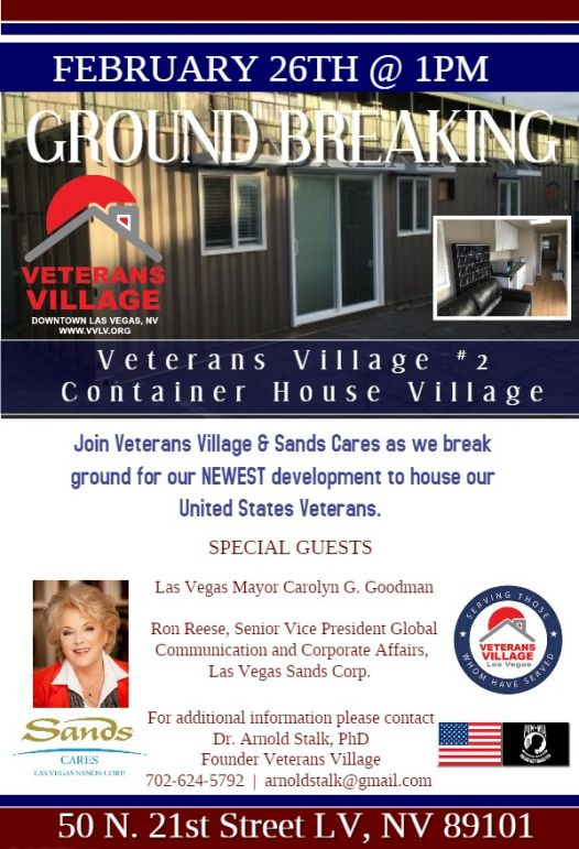 TIny House Ground Breaking Flyer