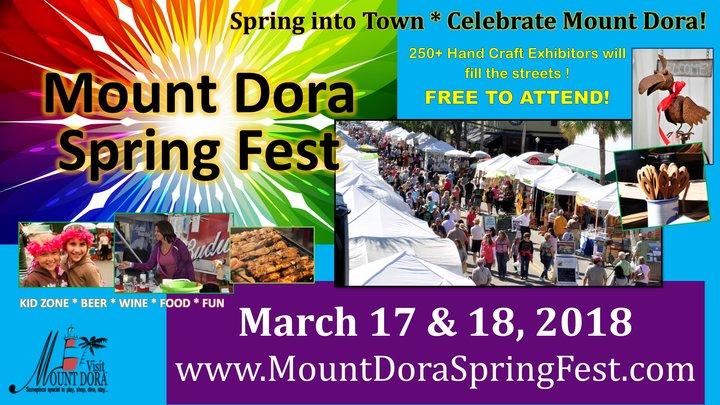 Mount Dora Spring Festival 2018