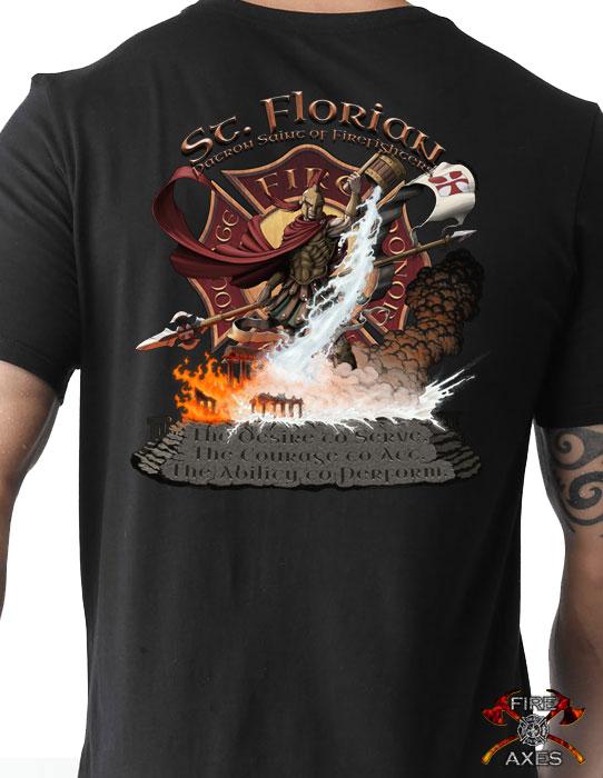 St. Florian Firefighter Shirt