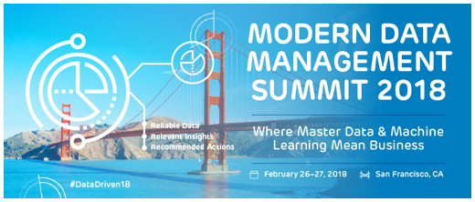 Reltio's MDM Summit, #DataDriven18, February 26-27