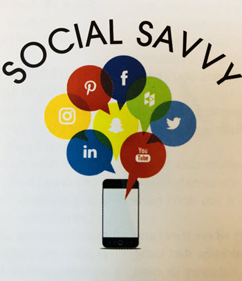Social Savvy column in Floor Focus Magazine by Christine B. Whittemore