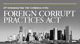 FCPA New York Forum