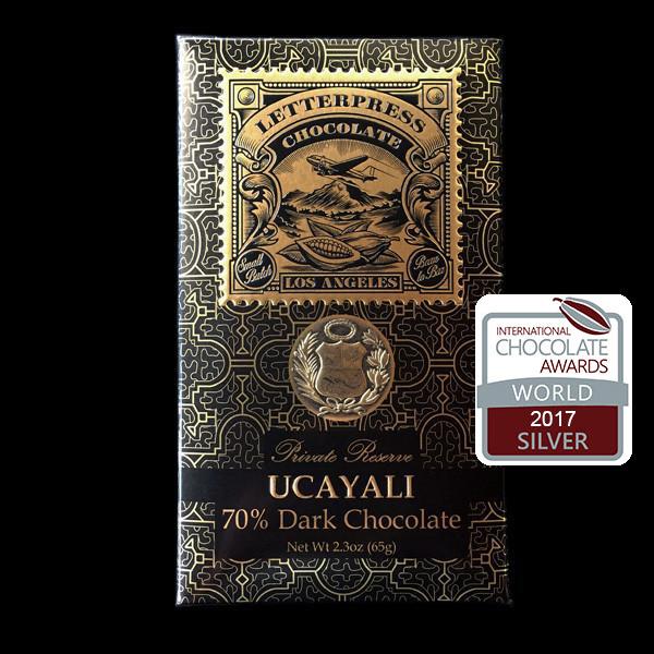 LetterPress Chocolate's Ucayali Bar
