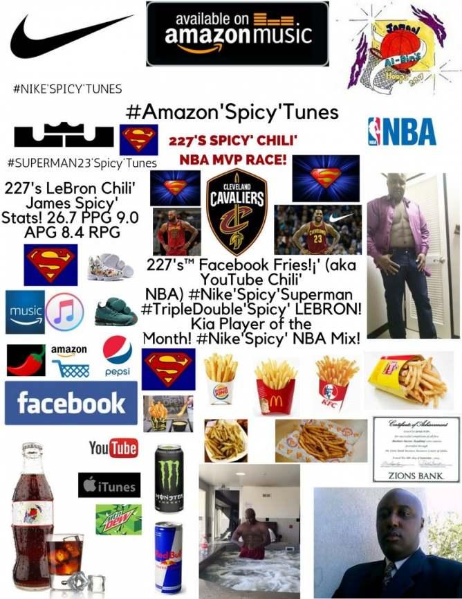 227's™ Facebook Fries!¡' (aka YouTube Chili' NBA) #MVP'Spicy' NBA Mix!