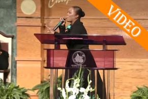 Dianna Hobbs at First Church of God, Bermuda