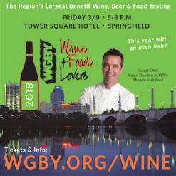 WGBY Wine, Beer & Food Tasting