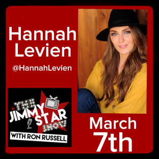 Hannah Levien On The Jimmy Star Show With Ron Russell