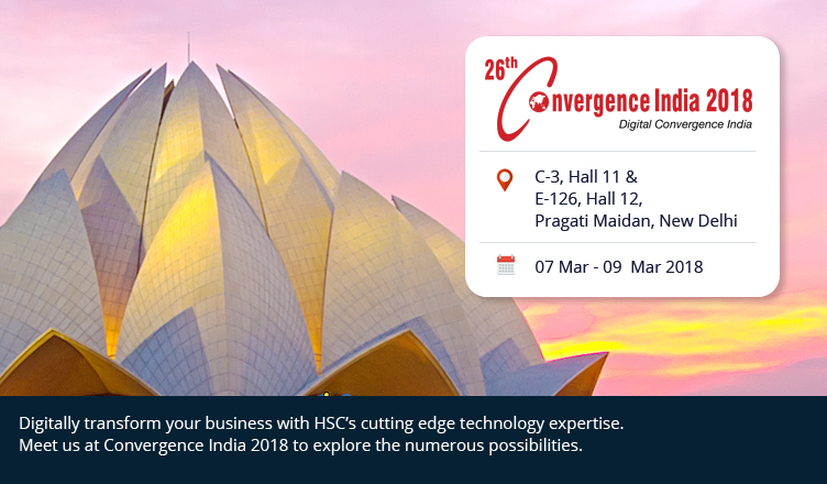 HSC_exhibits_at_Convergence India 2018