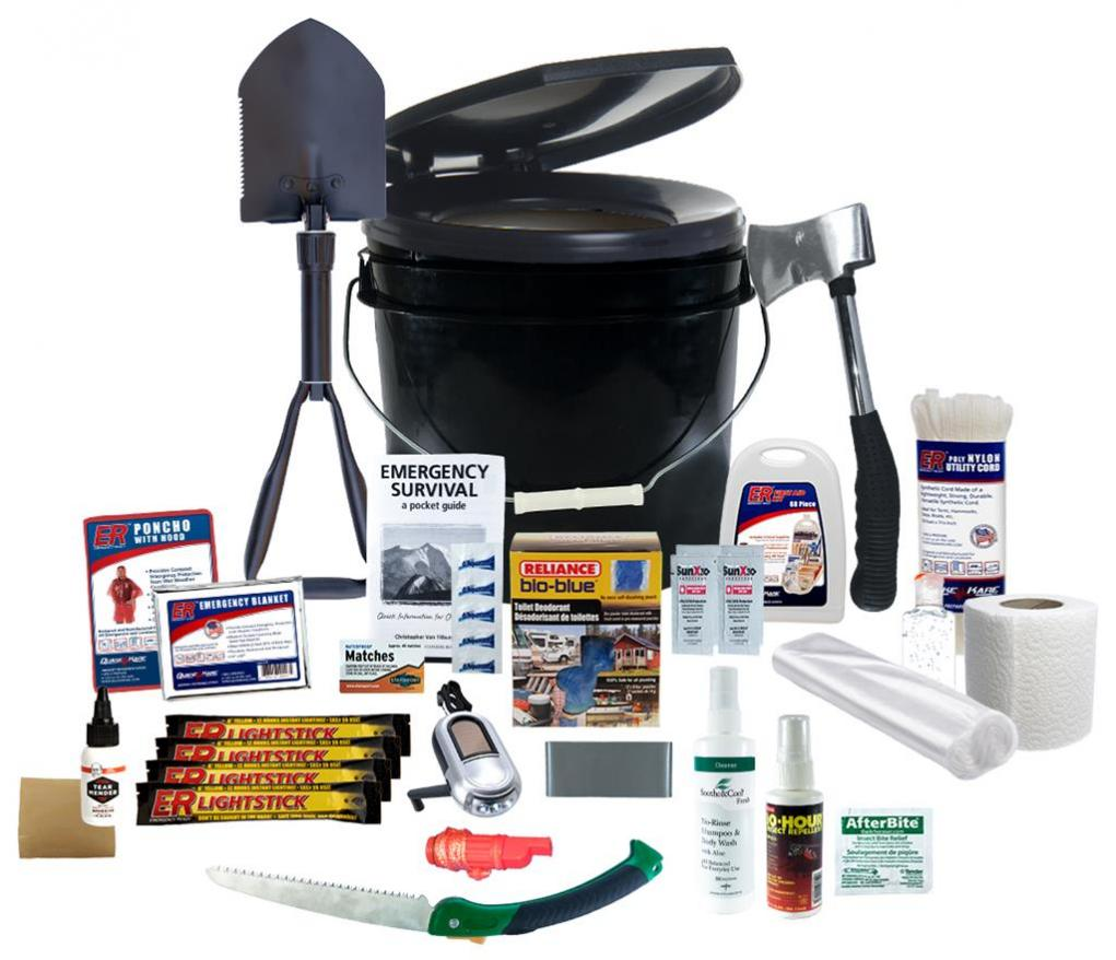 photo quake kare camping survival kit
