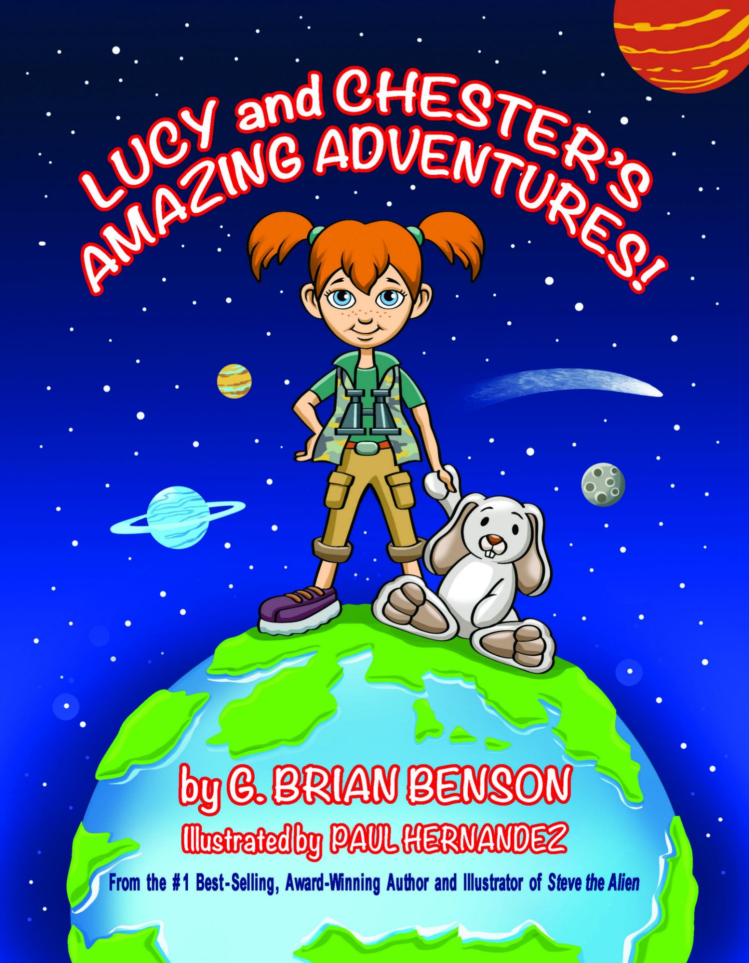 Lucy and Chester's Amazing Adventures! Cover