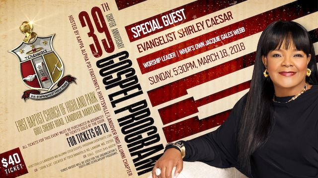 H-L 39th Anniversary Gospel Program Announcement
