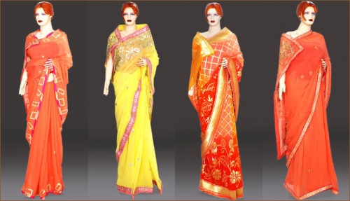 Indian Designer Sarees Collection for Weddings