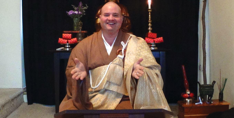Buddhist Monk Ryuun Joriki Baker, Osho  to speak at Thiel College