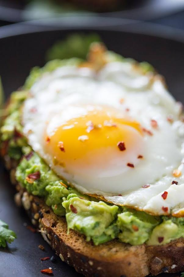 Hippie Kitchen's quickbite and breakfast favorite: Smashed Avocado Toast.