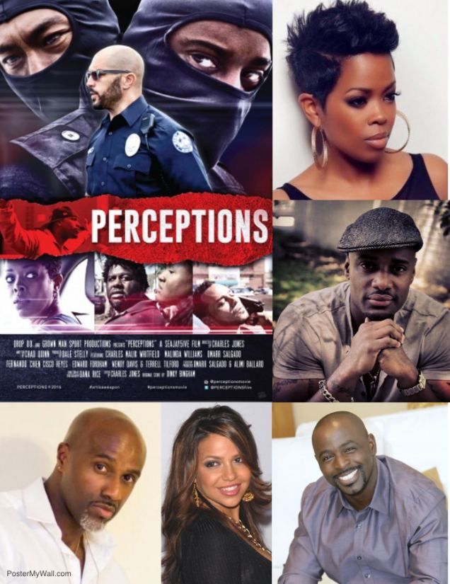 Perceptions poster and cast