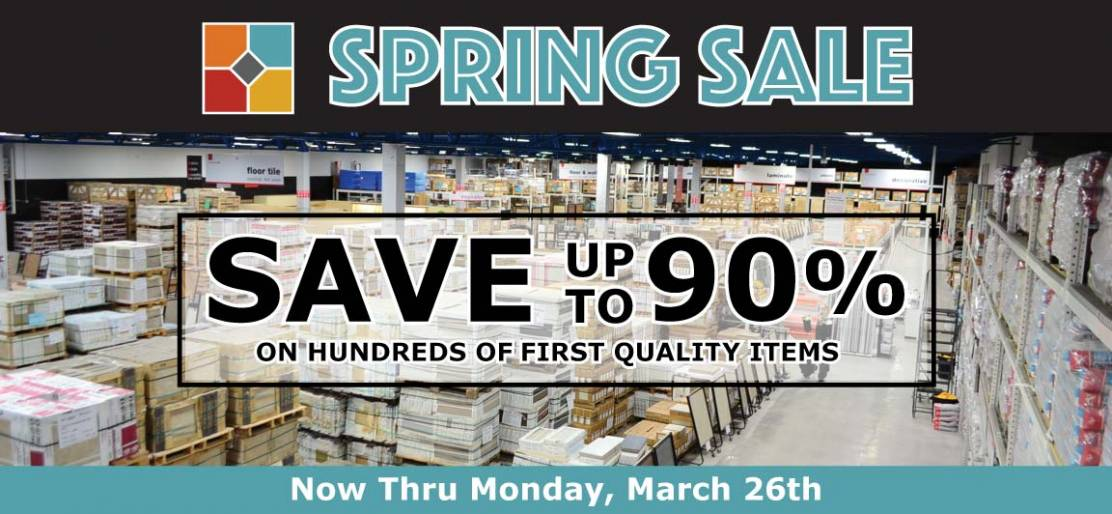 Don't Miss the Tile Outlets of America Spring Sale