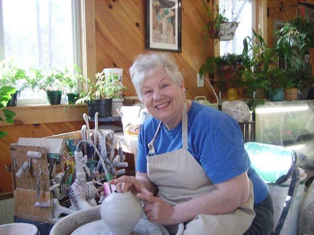 Linda Dalton of Linda Dalton Pottery