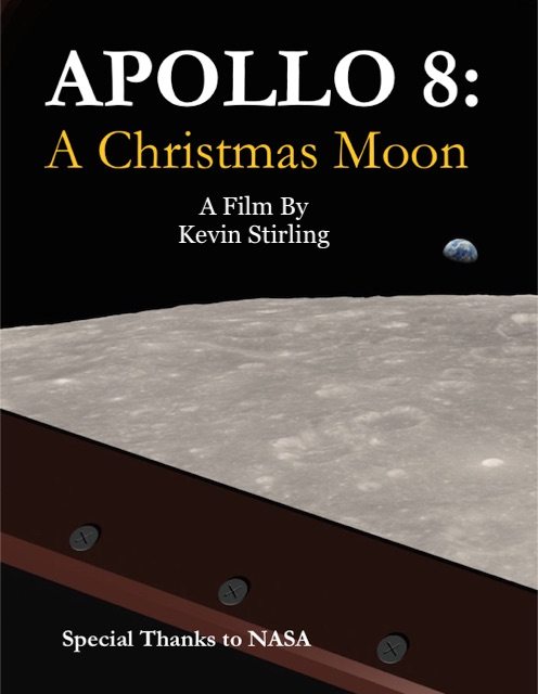 Apollo 8: A Christmas Moon Poster Art