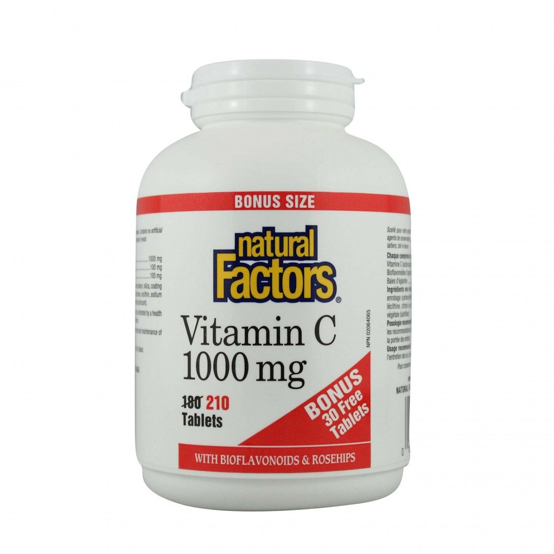 Natural Factors Vitamin C 1000 mg plus Bioflavonoi