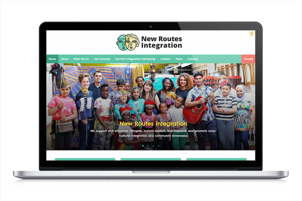 New Routes Integration - Homepage - Press