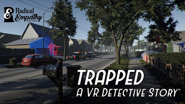TRAPPED: A VR Detective Story on HTC Vive