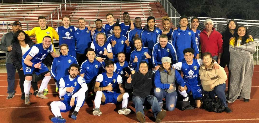 WNFC Coyotes celebrate victory with fans