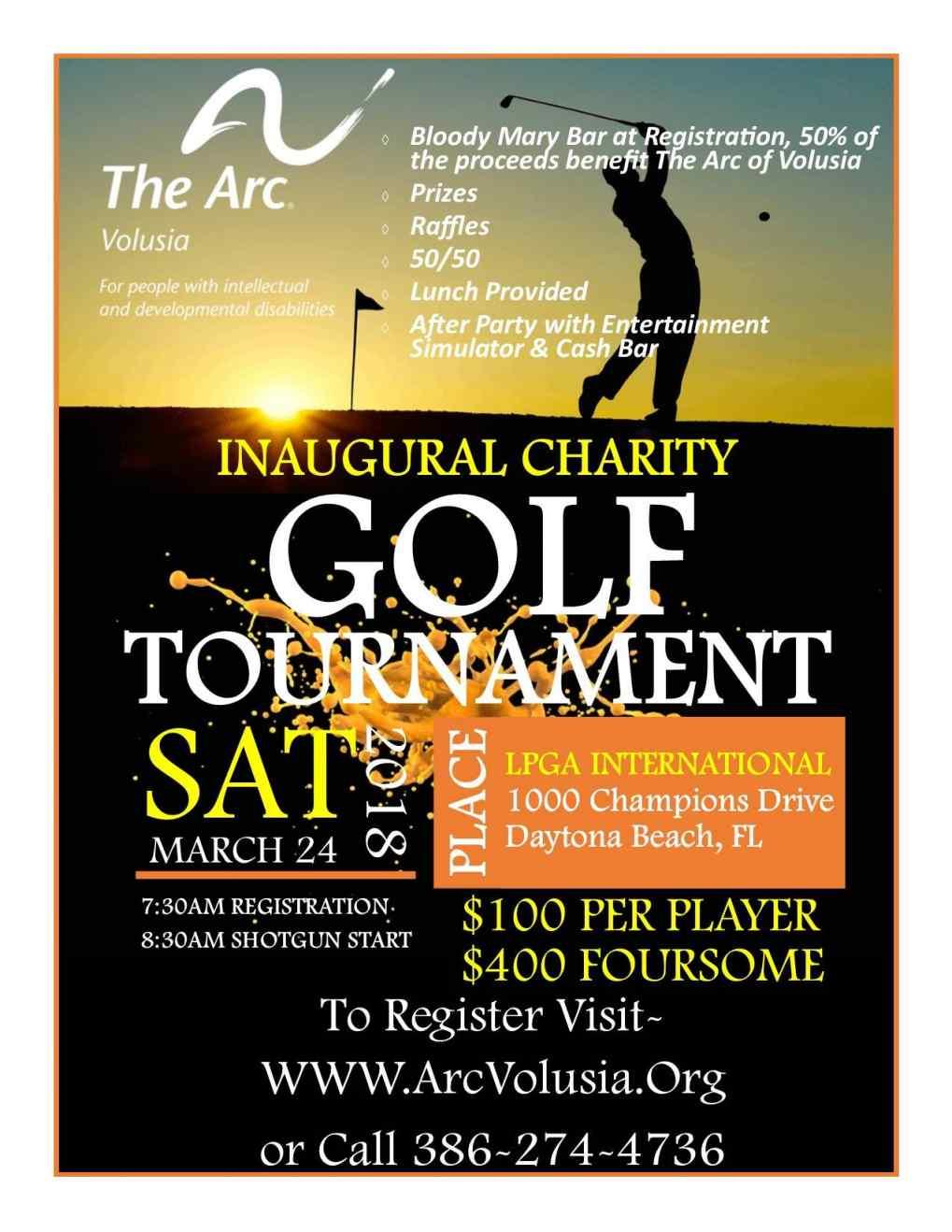 Arc Volusia Charity Golf Tournament