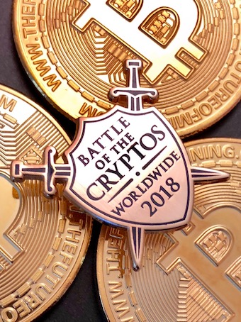 Photo credit: Battle of the Cryptos.