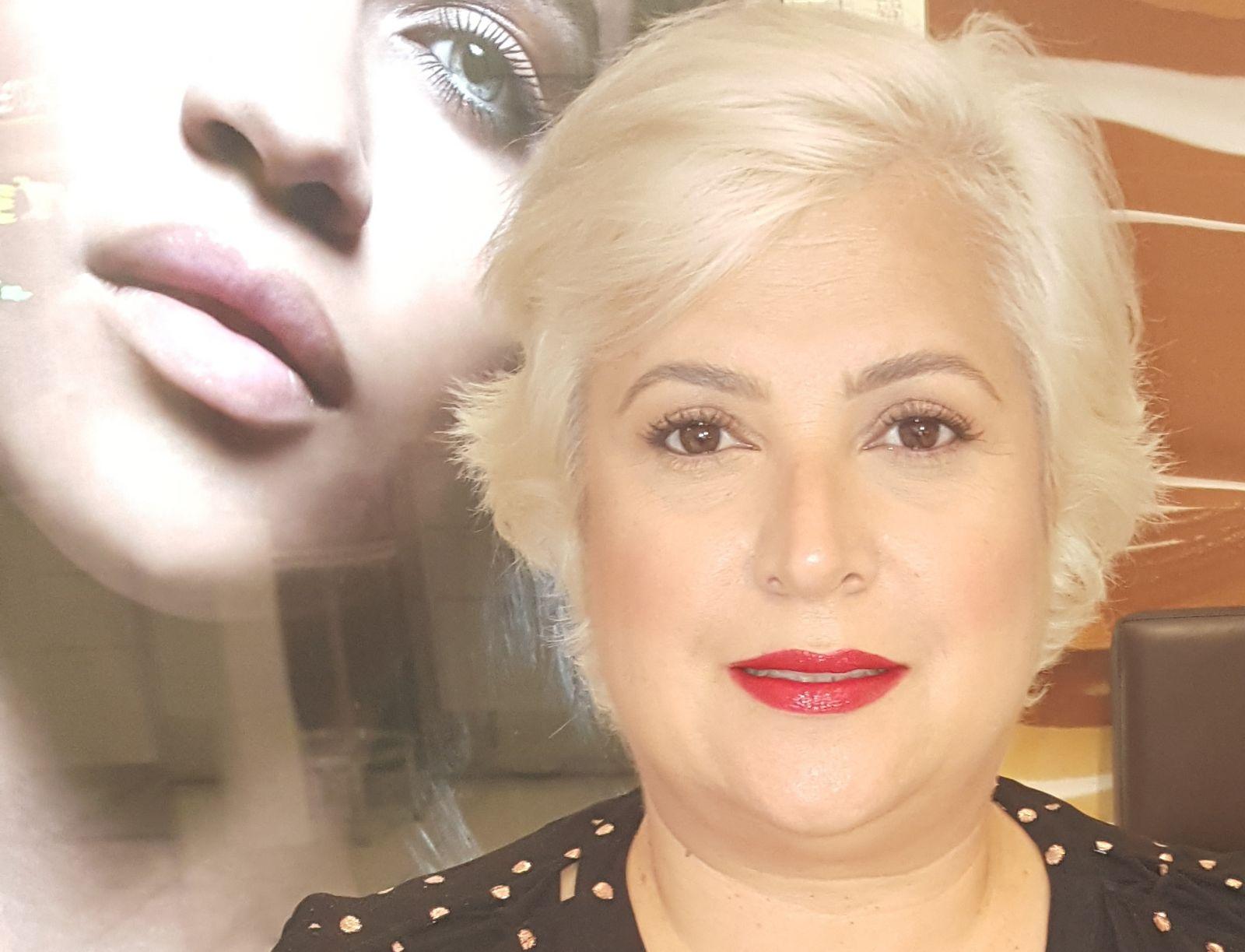 Nina Conti at Laura Mercier Make Up